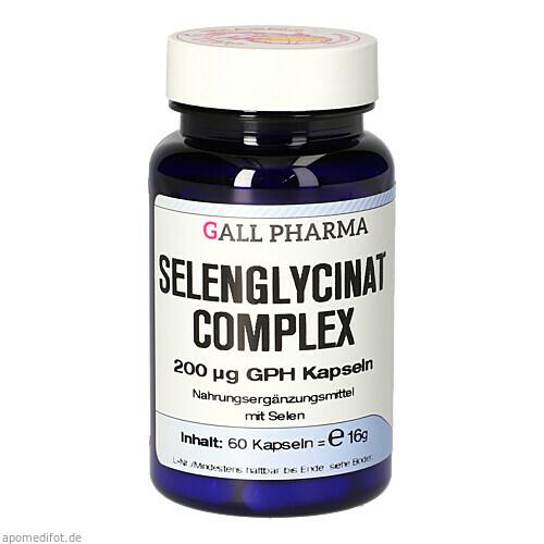 SELENGLYCINAT COMPLEX 200UG GPH Kapseln, 60 ST, Hecht-Pharma GmbH