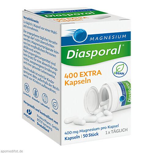 MAGNESIUM DIASPORAL 400 Extra Kapseln, 50 ST, Protina Pharmazeutische GmbH