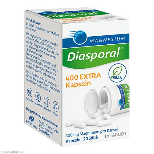 Magnesium-Diasporal 400 EXTRA Kapseln, 20 ST, Protina Pharmazeutische GmbH