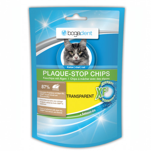 bogadent PLAQUE-STOP CHIPS Katze, 50 G, Werner Schmidt Pharma GmbH