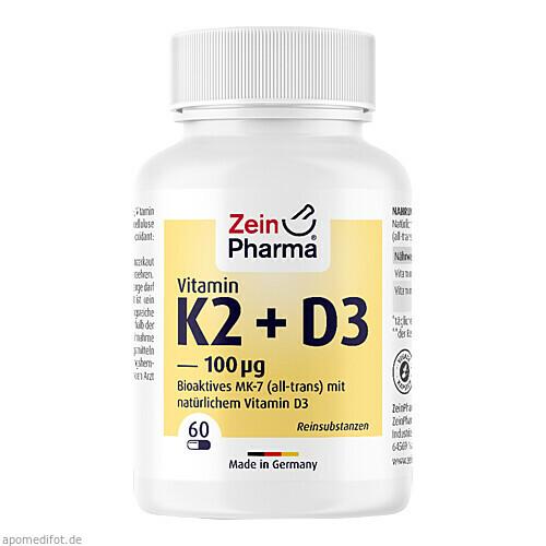 Vitamin K2-MenaQ7, 60 ST, Zein Pharma - Germany GmbH