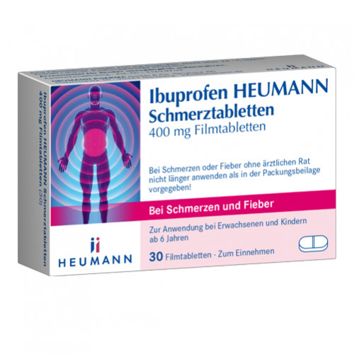 Ibuprofen Heumann Schmerztabl. 400mg, 30 ST, Heumann Pharma GmbH & Co. Generica KG