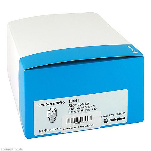 SenSura Mio 1-tlg.off.Btl.m.Sichtf.10-45 l-gra mid, 30 ST, Coloplast GmbH