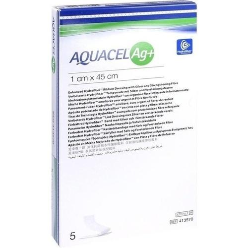 AQUACEL Ag+ 1X45CM, 5 ST, Convatec (Germany) GmbH
