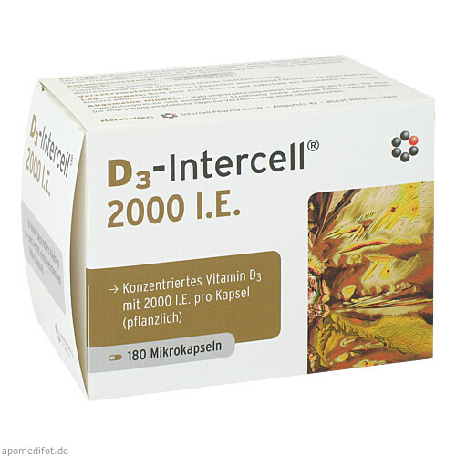 D3-Intercell 2000 I.E., 180 ST, Intercell-Pharma GmbH