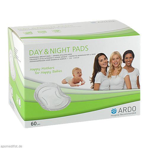 Ardo Day & Night Pads Einweg-Stilleinlagen, 60 ST, Ardo Medical GmbH