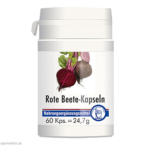 Rote Beete Kapseln, 60 ST, Pharma Peter GmbH