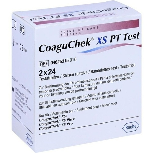CoaguChek XS PT Test, 48 ST, Eurimpharm Arzneimittel GmbH