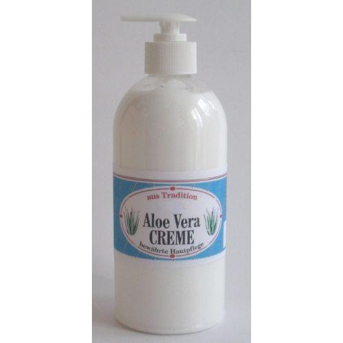 Aloe-Vera-Creme-Balsam Pumpflasche, 500 ML, Groß GmbH
