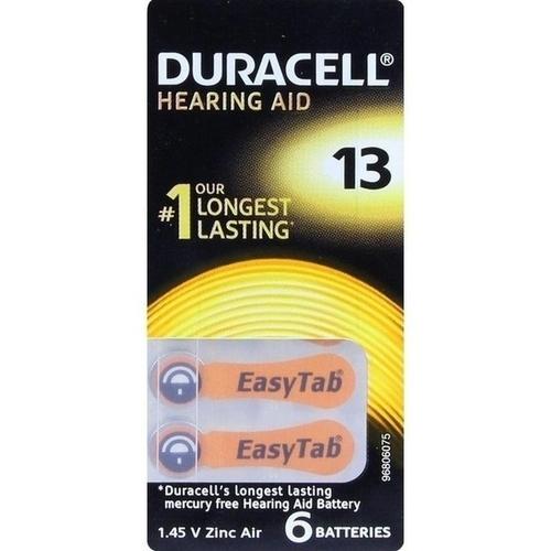 Duracell EasyTab 13 PR48, 6 ST, Duracell Germany GmbH