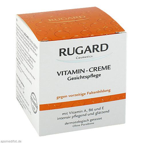 Rugard Vitamin Creme Gesichtspflege, 100 ML, Dr.B.Scheffler Nachf. GmbH & Co. KG