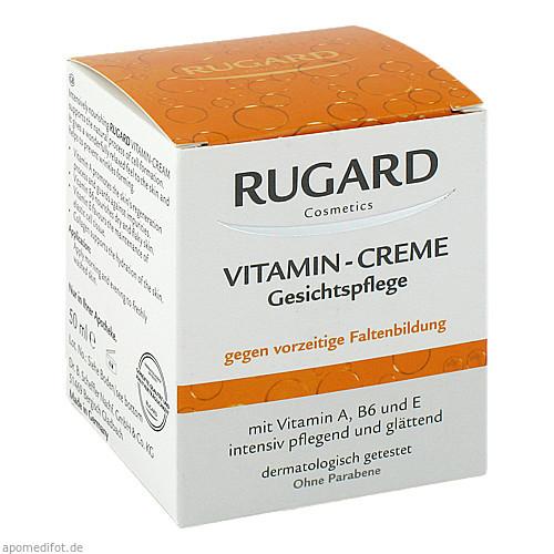 Rugard Vitamin Creme Gesichtspflege, 50 ML, Dr.B.Scheffler Nachf. GmbH & Co. KG