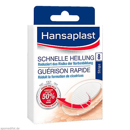 Hansaplast Schnelle Heilung Strips, 8 ST, Beiersdorf AG