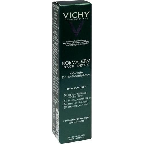 VICHY Normaderm Detox Nacht, 40 ML, L'Oréal Deutschland GmbH