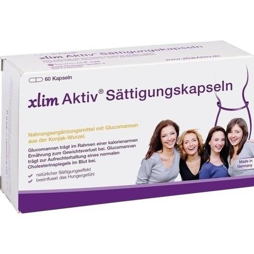 xlim Aktiv Sättigungskapseln, 60 ST, Biomo-Vital GmbH