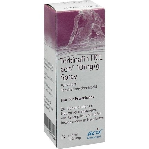 Terbinafin HCL acis 10mg/g Spray, 15 ML, Acis Arzneimittel GmbH