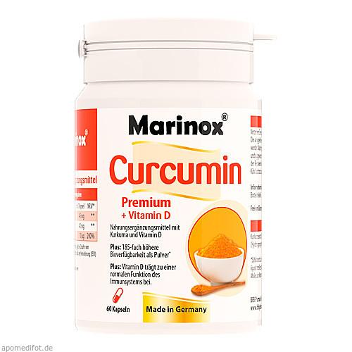 Marinox Curcumin Premium + Vitamin D, 60 ST, Habitum Pharma