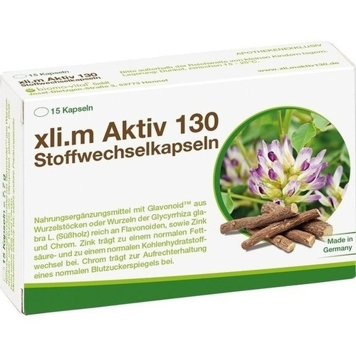 xli.m Aktiv 130 Stoffwechselkapseln, 15 ST, Biomo-Vital GmbH