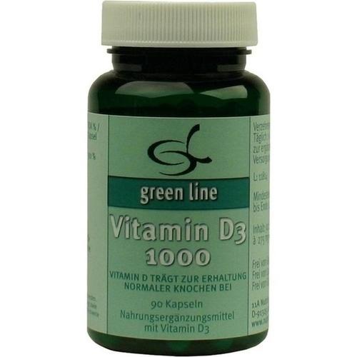Vitamin D3 1000, 90 ST, 11 A Nutritheke GmbH