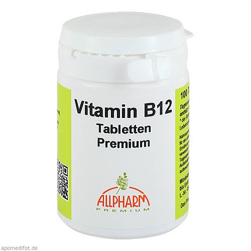 Vitamin B12 Premium Allpharm, 100 ST, Allpharm Vertriebs GmbH