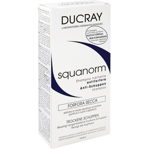 DUCRAY SQUANORM Trockene Schuppen Shampoo, 200 ML, PIERRE FABRE DERMO KOSMETIK GmbH GB - DUCRAY A-DERMA PFD