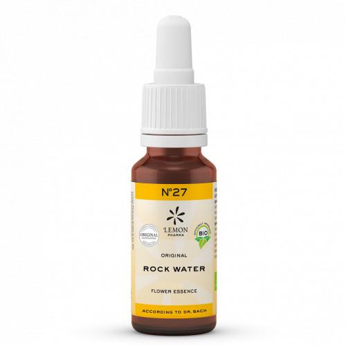 BACHBLUETE 27 ROCK WAT BIO, 20 ML, Lemon Pharma GmbH & Co. KG
