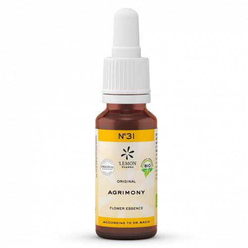 BACHBLUETE 31 VERVAIN BIO, 20 ML, Lemon Pharma GmbH & Co. KG
