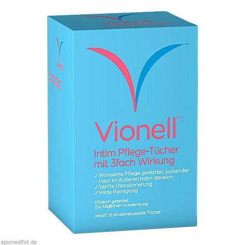 vionell Intim Pflege-Tücher, 12 ST, Pharma Netzwerk Pnw GmbH