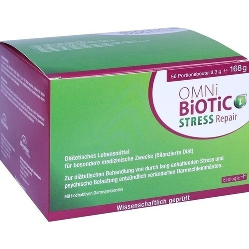 OMNI BiOTiC Stress Repair Pulver, 56X3 G, INSTITUT ALLERGOSAN Deutschland (privat)