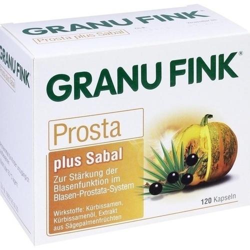 GRANU FINK Prosta plus Sabal Hartkapseln, 120 ST, Omega Pharma Deutschland GmbH