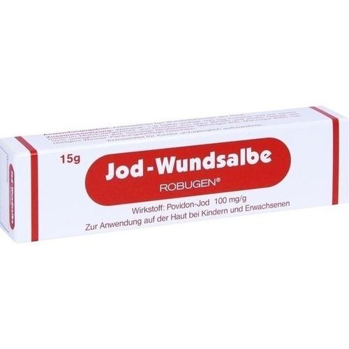Jod-Wundsalbe Robugen, 15 G, Robugen GmbH Pharmazeutische Fabrik