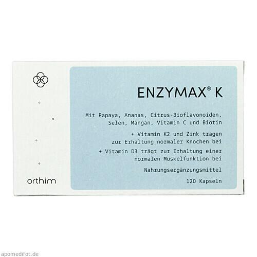 Enzymax K, 120 ST, Orthim GmbH & Co. KG