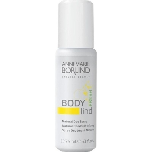 BÖRLIND BODY lind fresh Deo Spray, 75 ML, Börlind-Gesellschaft für kosmetische Erz