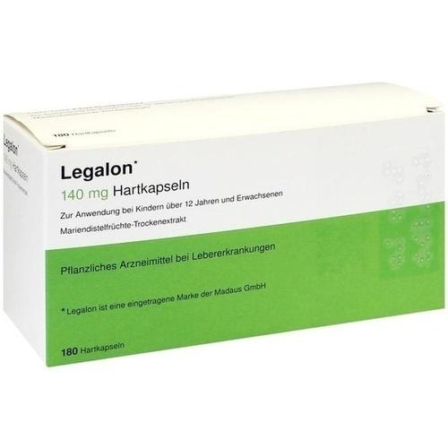 Legalon 140, 180 ST, kohlpharma GmbH