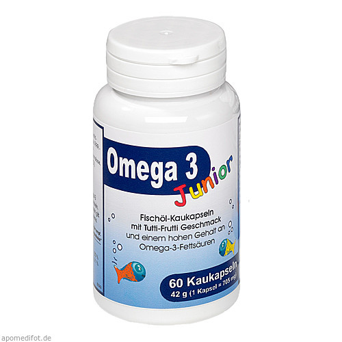 Omega 3 Junior Berco, 60 ST, Berco-ARZNEIMITTEL