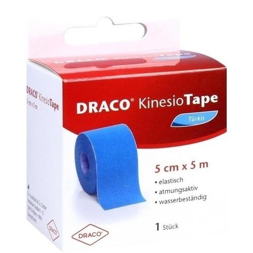 Draco Kinesiotape 5mx5cm türkis, 1 ST, Dr. Ausbüttel & Co. GmbH