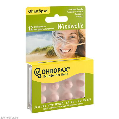 OHROPAX Windwolle, 12 ST, Ohropax GmbH