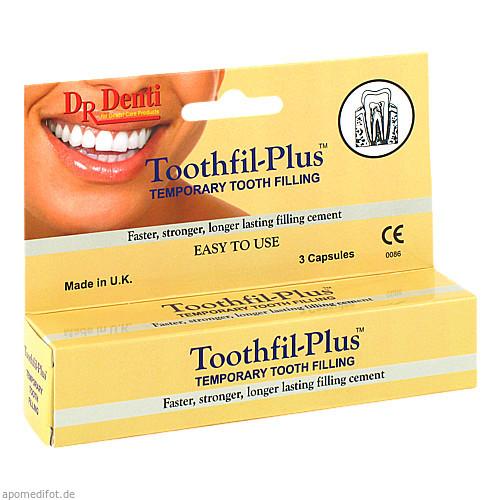 Zahnzement -Füllmaterial Toothfil Plus, 3 ST, Megadent Deflogrip Gerhard Reeg GmbH