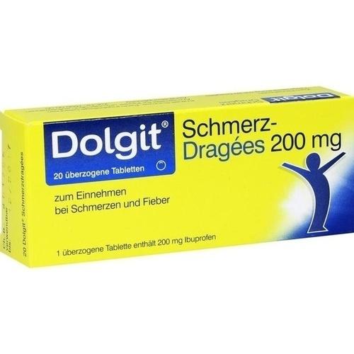 Dolgit Schmerzdragees, 20 ST, Dr. Theiss Naturwaren GmbH