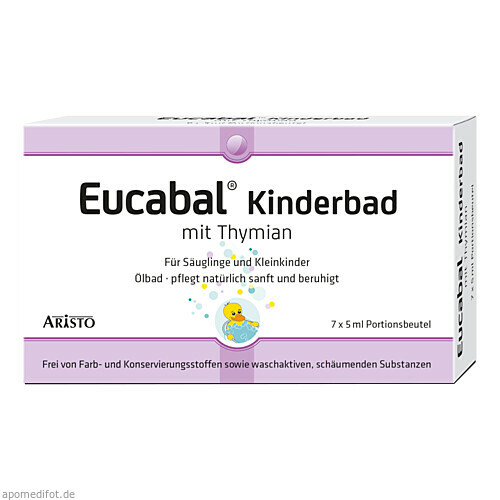 Eucabal Kinderbad mit Thymian, 7X5 ML, Aristo Pharma GmbH
