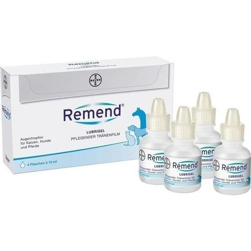 REMEND Lubrigel vet., 4X10 ML, Bayer Vital GmbH Gb - Tiergesundheit