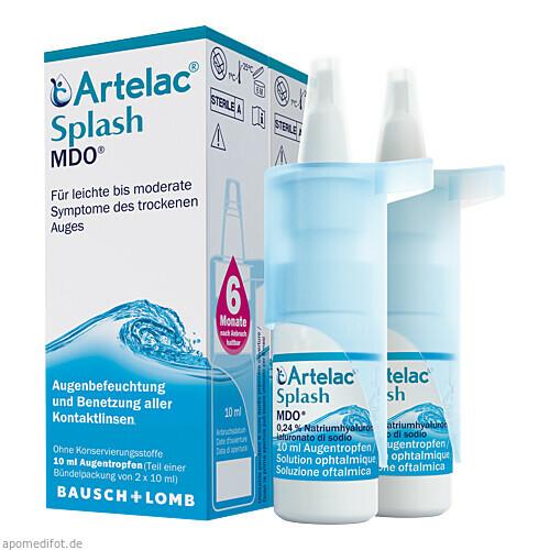 Artelac Splash MDO Augentropfen, 2X10 ML, Dr. Gerhard Mann