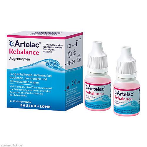 Artelac Rebalance Augentropfen, 2X10 ML, Dr. Gerhard Mann