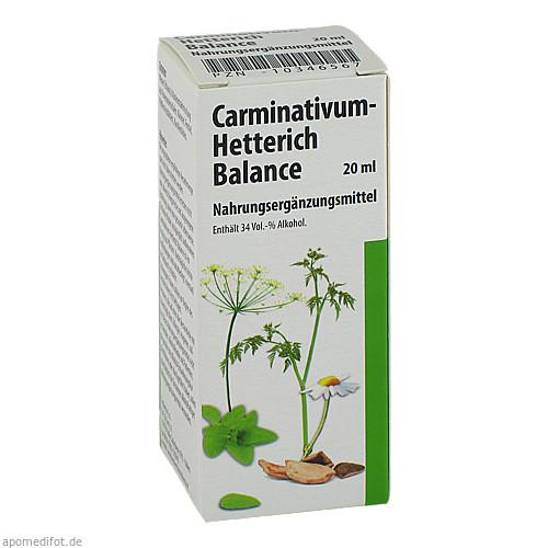 CARMINATIVUM Hetterich Balance Tropfen z.Einnehmen, 20 ML, Teofarma s.r.l.