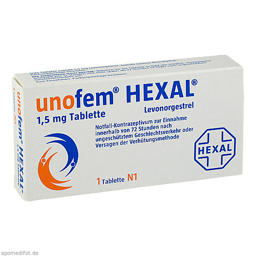 unofem HEXAL 1.5mg Tablette, 1 ST, HEXAL AG