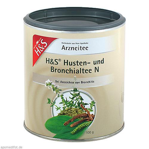 H&S Husten- und Bronchialtee N (loser Tee), 100 G, H&S Tee - Gesellschaft mbH & Co.