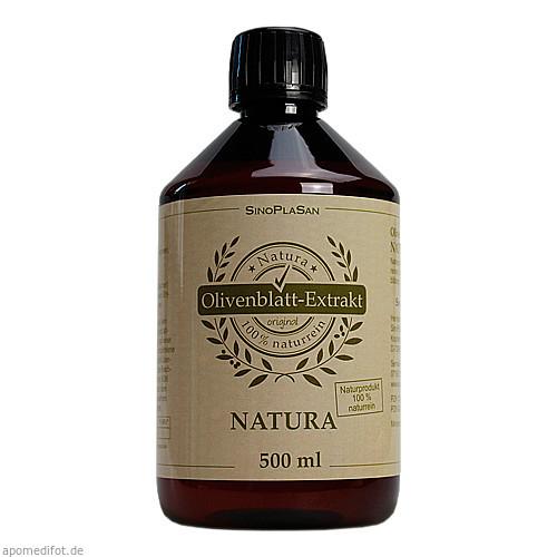 Olivenblattextrakt-NATURA 100% naturrein pur, 500 ML, Sinoplasan AG