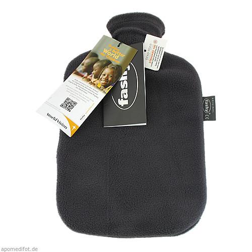 fashy Wärmflasch mit Unibezug anthrazit, 1 ST, Fashy GmbH