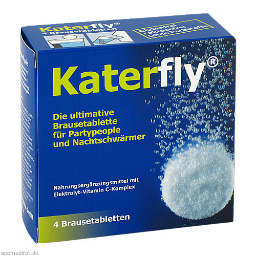 KATERFLY, 4 ST, Philpharma GmbH