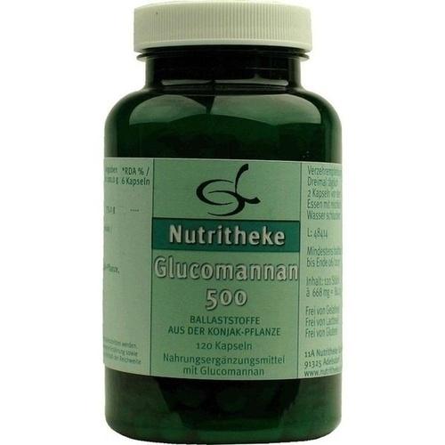 Glucomannan 500, 120 ST, 11 A Nutritheke GmbH